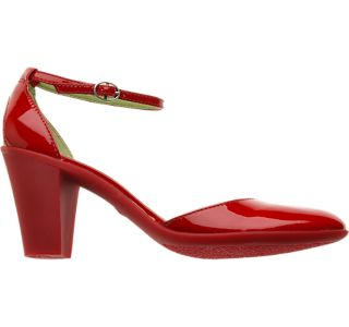 red patent maryjanes