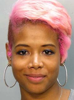 kelis gives good mugshot