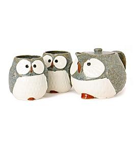 owling sake ware